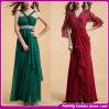 Das neuer 2014 tiefer V-Ansatz lange Spitzenkleid des abschlußball-Dress/Cocktail Dress/Evening