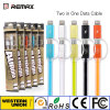 Remax Two in One Data Cable voor iPhone Both en Android Smart Phone