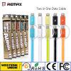 Remax dos en un cable de datos para el iPhone y el teléfono elegante androide