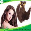 Qualitäts-hellbraune brasilianische Jungfrau menschliches Remy Haar