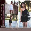 Wholesale Of black Of lady Of party Of one Of shoulder Of cocktail Of dresses (TONY8015)