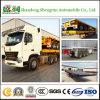 Aanhangwagen van de Container van de tri-Assen van de Aanhangwagen van de vrachtwagen Flatbed voor Verkoop in Kenia