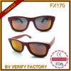 Óculos de sol elegantes do frame de madeira da alta qualidade Fx170