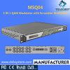 4 in 1 Multiplexer u. Scrambler u. Qam Modulator