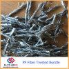 Fibra concreta della plastica del polipropilene pp Ploymer della mescolanza