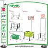 Metalllebensmittelgeschäft-Einkaufskorb-Support