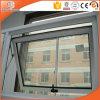 Superior de aluminio de la capa del polvo colgado/ventana del toldo para el edificio