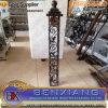 장식적인 단철 전등 기둥