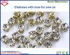 Granos cristalinos de la joyería del color de Tailandia con la garra