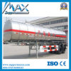 3 axe 60t Oil Tank Trailer pour Oil Transport