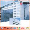 Materiale di alluminio non Xerox del coperchio della parete di prezzi PVDF di Ideabond (AF-406)