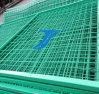 China soldó la cerca del acoplamiento de alambre para el aeropuerto, carretera, Sportland