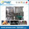 Embotellados de frutas botellas de zumo de mascotas Máquina de llenado
