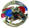 2017 Uitstekende kwaliteit Aangepaste Gouden het Worstelen M3XL Matrijs Gegoten Medaille - 2.75 Duim