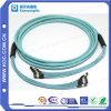 Cuerda de remiendo óptica de la fibra del surtidor MPO/MTP de Shenzhen