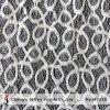 綿の幾何学的な絹のレースファブリック(M3195)