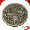 2D Military Coin с Antique Gold Finish