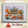غرفة الطعام صورة بلاط الديكور
