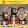 Alambre de soldadura de cobre del alambre de soldadura de MIG del sólido Sg2 G3si1 Er70s-6 con el carrete 15/20kg/Plastic de 1.0m m
