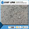Bancada de pedra de /Quartz das lajes artificiais pequenas cinzentas da pedra de quartzo da grão