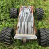 1/10 Scale Electric RC Car Model Brushless 4WD Télécommande Black Body