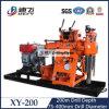 Foreuse de contrôle hydraulique de puits d'eau de haute performance de Xy-200 200m