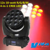 Горячее Selling 12X10-Watt RGBW Quad Color Beam СИД Moving Head