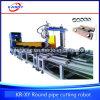Cnc-Plasma-Flamme-Scherblock-Maschine für Fluss-Stahl-rundes Rohr/grosses Rohr