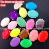 Greifer Rhinestone Neon Color Fluorescence Color Resin Sew auf Stone