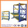 Cremalheira do molde da gaveta do preço de fábrica, cremalheira do molde de aço do armazenamento ISO9001