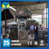 Tijolo concreto da auto construção que faz a linha de produtos