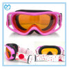 Anti-Fog personalizar óculos de proteção de segurança compatíveis do esqui do capacete do Eyeglass