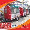Price competitivo Food Cart con Towbar y Big Wheels
