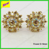 Commercio all'ingrosso 9mm Shamballa Barbell Stud Earring Studs (YEA1300024E)