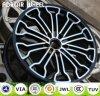 Borda clássica da roda da liga do carro da réplica feita em China