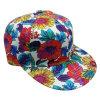 Gorra de béisbol floral de la tela de la manera con el Snapback Sb15122