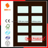 Certificate를 가진 2014 최신 Sale Interior Glass Sliding Wooden Door