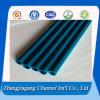 Blaues Puder-Schichts-Aluminium-Rohr