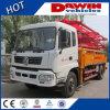 O CE aprovou o caminhão concreto da bomba do crescimento do caminhão de 18m 21m 25m 28m para a venda