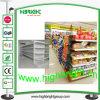 Aménagement commercial de gondole de supermarché pour à niveau élevé