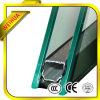 着色された低いEアルミニウムによって絶縁されるガラス