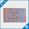 服装または衣類豊富なカラーアクセサリのための着色されたヤーンによって編まれるラベル