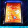 Tabellone per le affissioni di cristallo del contenitore chiaro di manifesto della cornice del LED