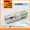 1157 luz alternativa da microplaqueta 6000k 750lm do CREE de P21W 50W