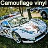 Обруч автомобиля камуфлирования, пленка автомобиля Camo, автоматические стикеры