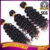 熱い美の緩く自然な波の人間の毛髪の深いカールの拡張、安い卸し売り毛