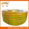 Tuyaux d'air jaunes de PVC de pression de qualité