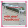 Ladder Multi-Purpose de aluminio con Steel Treadboard