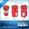 Peças sobresselentes do equipamento Drilling de bocado de tecla da linha de T45 Retrac