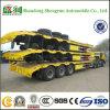 3-as 13meters GraafLading die de Aanhangwagen van de Vrachtwagen Vervoer Lowbed